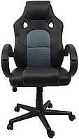 Кресло геймерское Bonro до 120 кг Серое