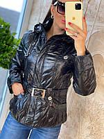 Куртка женская демисезонная с капюшоном, фото 1