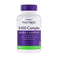 Комплекс витаминов группы Б Natrol B-100 Complex 100 таблеток