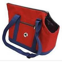 Сумка для животного Giselle, синий/красный, 49х23х31см