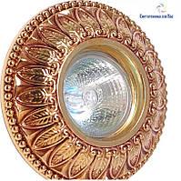 Светильник точечный Ultralight CL 005 GDF золото с патиной