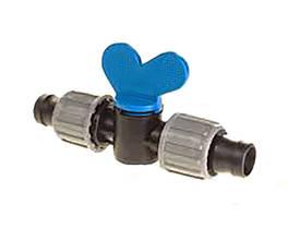 Кран соединительный (ремонтный) для капельной ленты - Eco Irtech