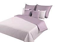 Комплект постельного белья Хлопковый Мако-сатин Nova M&M 8740 Фиолетовый