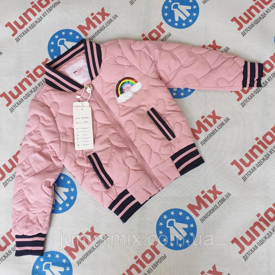 Детская куртка бомбер  демисезонная  на девочку F26