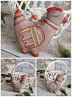 """Іграшка до пасхальних свят """"Курочка Ряба"""", для корзини, для декору, підвіска, вис.15 см., 55 грн."""
