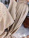 Длинное пышное платье с блестками и верхом на запах без рукава 66py955Е, фото 2