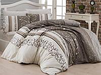 Комплект постельного белья First Choice Ranforce Eshe Двуспальный Евро