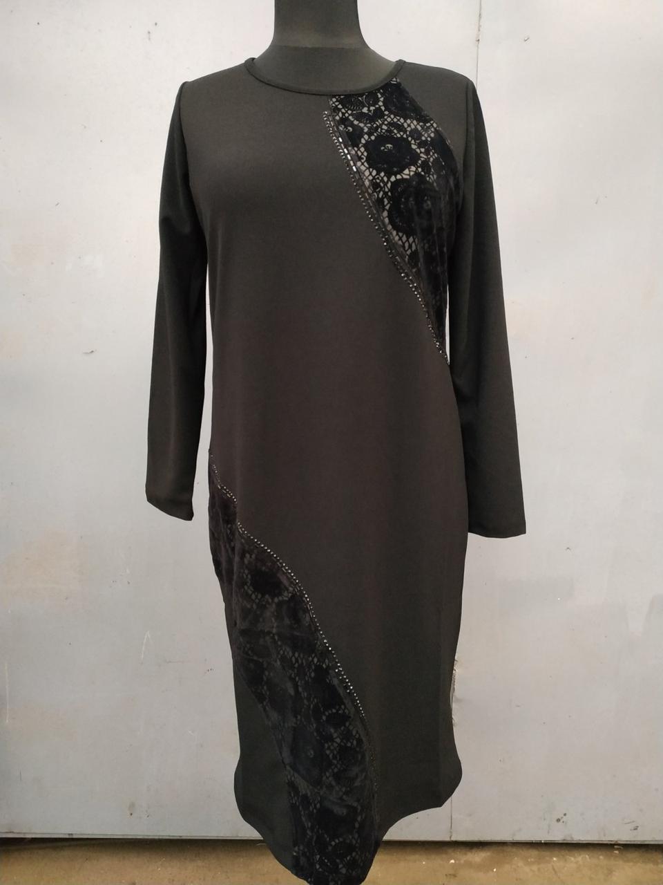 Платье-трикотажное 90483