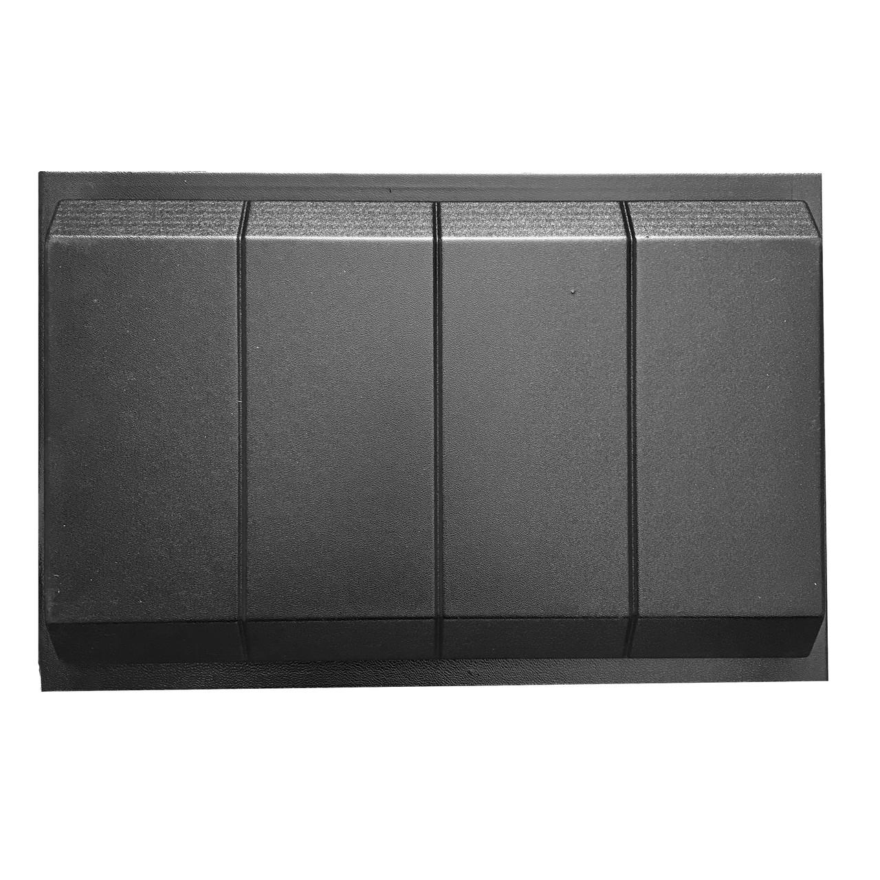 """Форма для парапета """"Эркер"""" 500*310*60 мм; для литья бетонных коньков на забор"""