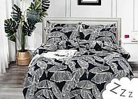 Комплект постельного белья Сатин Dalwin 159 M&M 2777 Белый, Серый