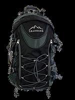 Рюкзак туристический Leadhake, каркасный (35 литров),Черный, ручная кладь.