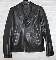 """Куртка-косуха чоловіча демісезонна кожзам, розміри 44-54 (3ол) """"JOKER"""" купити недорого від прямого постачальника, фото 1"""