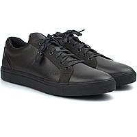 Мужские кожаные кроссовки коричневые кеды обувь больших размеров Rosso Avangard Puran Night Brown BS, фото 1