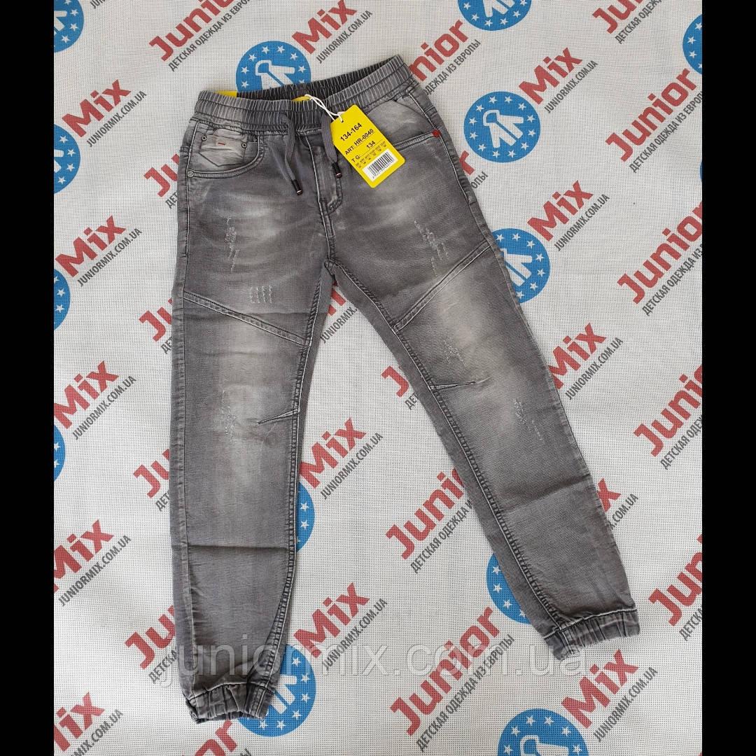 Подростковые джинсы на манжетах для мальчиков оптом