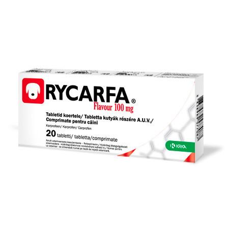 Рикарфа таблетки (карпрофен 100 мг) со вкусом мяса №20, KRKA