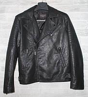 """Куртка-косуха чоловіча KASIQI демісезонна кожзам, розміри 46-58 """"JOKER"""" купити недорого від прямого постачальника, фото 1"""