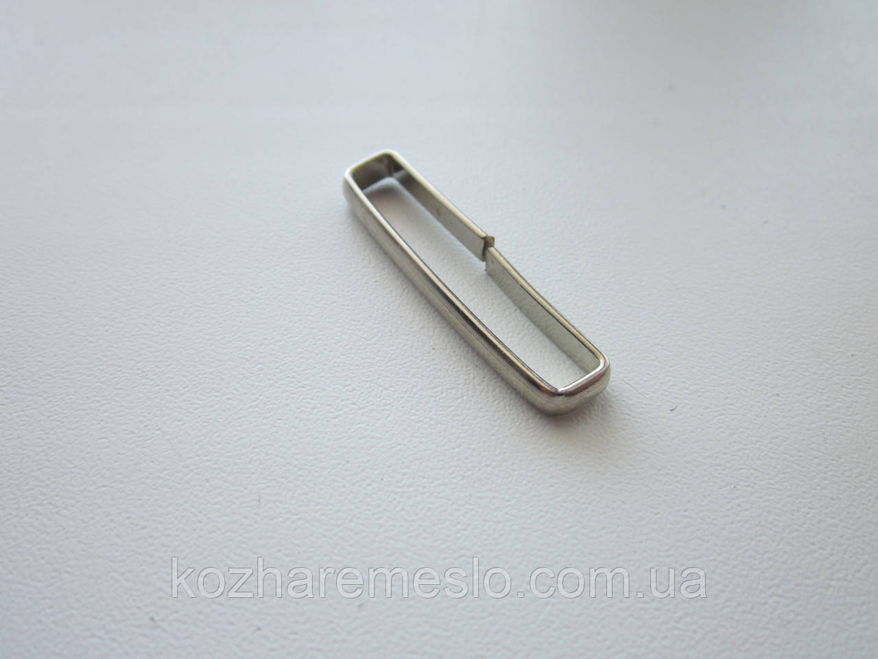 Ферма - затиск для запряжника ременя 35 мм нікель