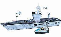 Конструктор Brick Enlighten Военно-морская серия 113 (Авианосец)