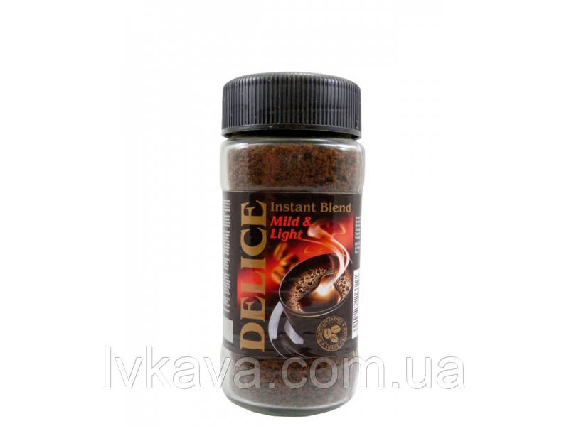 Растворимый кофе  Delice, 200 гр