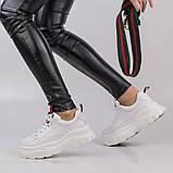 Жіночі білі кросівки Lonza 50179 WHITE KOGA весна 2020, фото 3