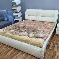 """Кровать из натуральной кожи с подъемным механизмом """"Бруни"""" В НАЛИЧИИ"""