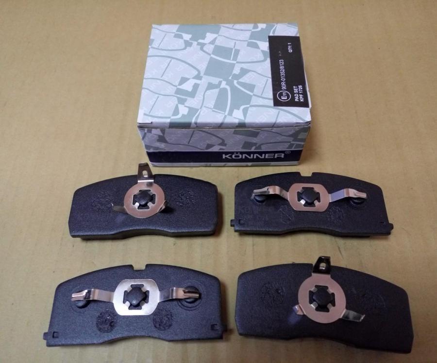 Колодки тормозные передние с ABS Geely CK / CK2