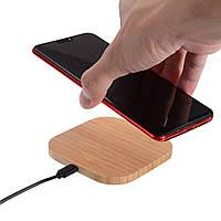 Беспроводное зарядное устройство iQ5 Wood с кабелем Micro USB, СЗУ, беспроводная зарядка