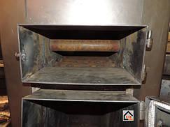 Толщина стали на котлах САН ЭКО составляет не менее 3х мм. толщина труб в теплообменнике и на омываемых колосниках не менее 4х мм