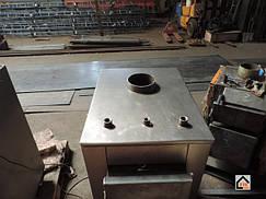 Производство котлов САН ЭКО. Твердотопливные котлы САН ЭКО (CAH ECO) производятся в четырех моделях мощностями 10, 13, 17, 25 кВт. Тем самым охватывая весь бытовой сектор.