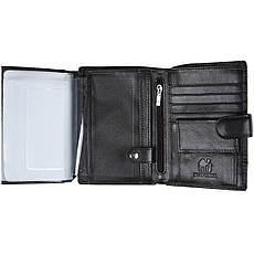 Бумажник мужской кожаный KOCHI 100х140х25 застёжка кнопка  м К227Д-12Н09ч, фото 3