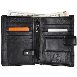 Бумажник мужской кожаный KOCHI 100х140х25 застёжка кнопка  м К227Д-12Н09ч, фото 2