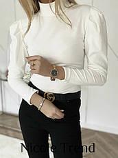 Женская модная кофта с рукавами - фонариками (6 цветов), фото 3