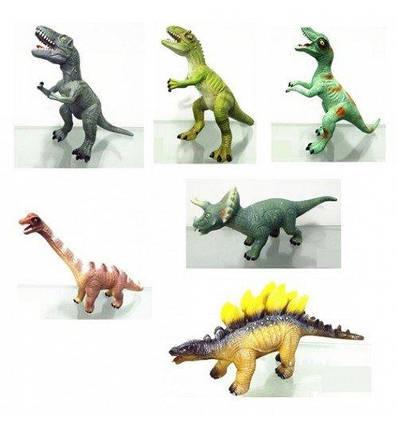 031-1/032-1 Динозавр резин. муз., фото 2