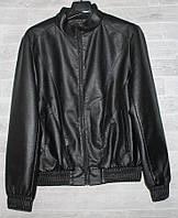 """Куртка чоловіча демісезонна кожзам, стійка,розміри L-4XL """"JOKER"""" купити недорого від прямого постачальника, фото 1"""