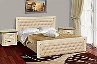 Кровать Фридом/Freedom 180х200 см (слоновая кость/патина золота)