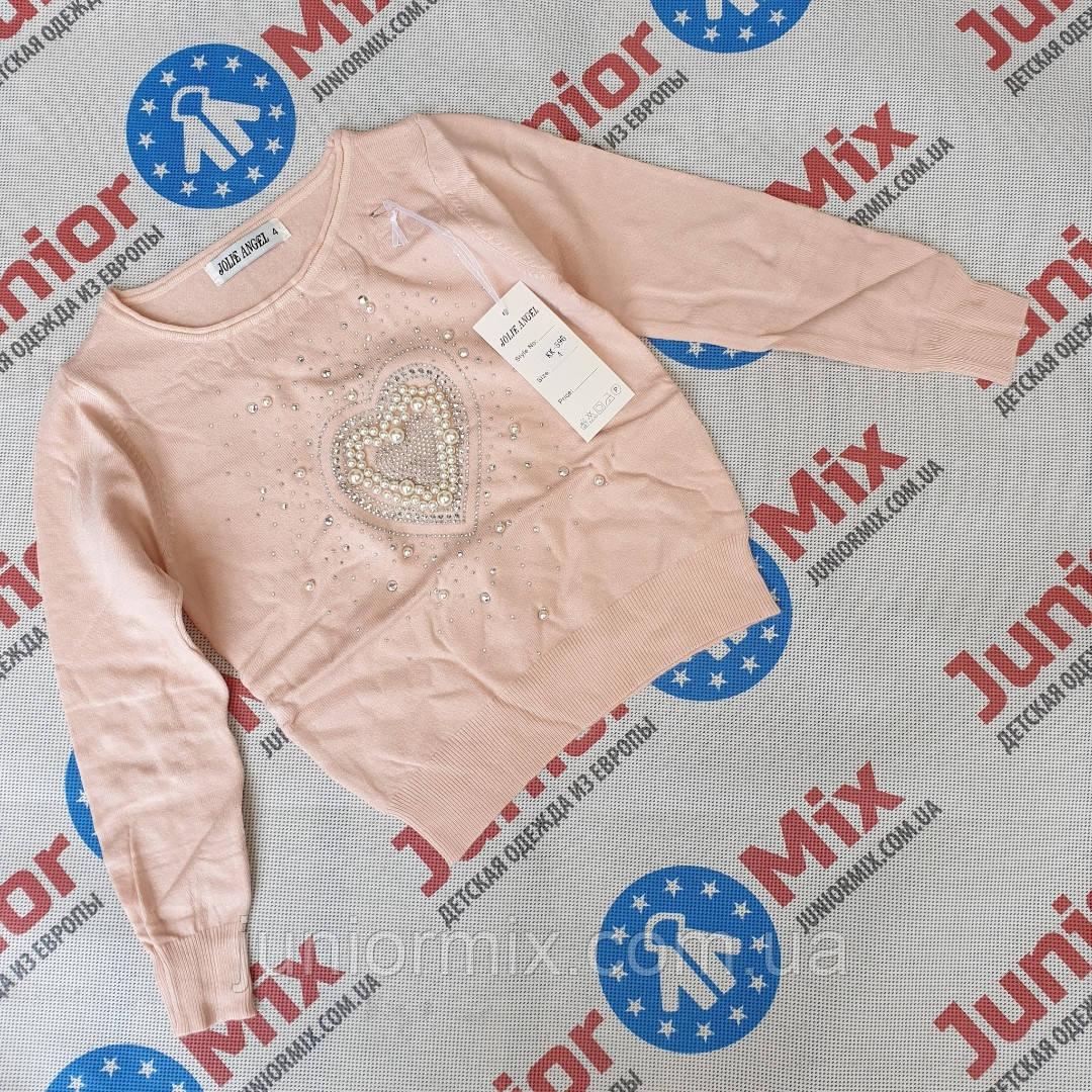 Детские модные  кофты для девочек оптом.ИТАЛИЯ