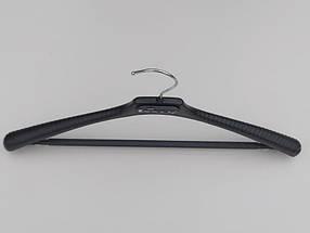 Плечики ВП42  черного цвета, длина 42 см, фото 2