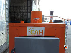 Полностью изготовленный котле САН ЭКО мощностью 10 кВт. Мы осуществляем доставку котлов САН ЭКО по всей Украине