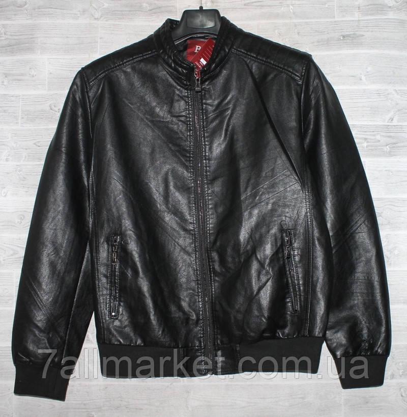 """Куртка мужская BSC демисезонная кожзам, размеры 46-58 """"JOKER"""" купить недорого от прямого поставщика"""
