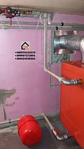 Правильно установленный котле САН ЭКО мощностью 17 кВт