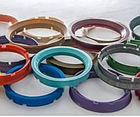 Центровочные проставочные кольца для дисков авто 72,6-65,1 на все марки! Турция! Проставочное кольцо в диск