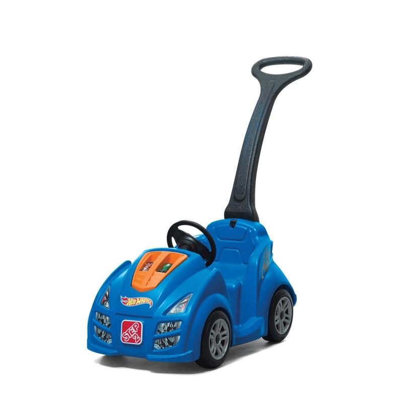 Машинка каталка с ручкой Hot Wheels Step2 866800