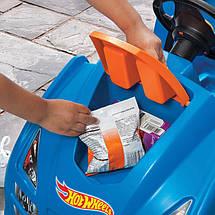 Машинка каталка с ручкой Hot Wheels Step2 866800, фото 3