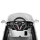 Детский электромобиль Mercedes Benz M 3995EBLRS-11 серебро, фото 4