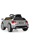 Детский электромобиль Mercedes Benz M 3995EBLRS-11 серебро, фото 5
