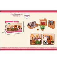 B11 Животные флоксовые гостинная, (фигурки животных в набор не входят), в коробке