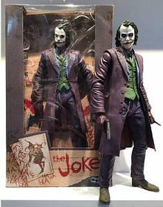 Колекційна фігурка Neca Joker з фільму Batman The Dark Knight Бетмена Темний лицар Джокер 18 см