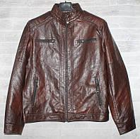 """Куртка мужская BSC демисезонная кожзам, размеры 46-58 (2цв) """"JOKER"""" купить недорого от прямого поставщика, фото 1"""