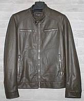 """Куртка мужская KASIQI демисезонная кожзам, размеры 48-60 """"JOKER"""" купить недорого от прямого поставщика, фото 1"""