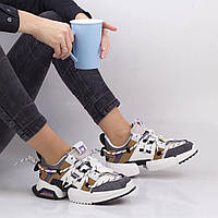 Женские цветные кроссовки Lonza 1916-5 GREY весна 2020 +++ H1916-5 серый, фото 1